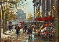 Flower Seller at La Madeleine