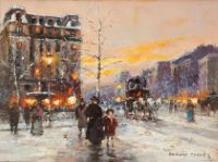 Place Pigalle in Winter